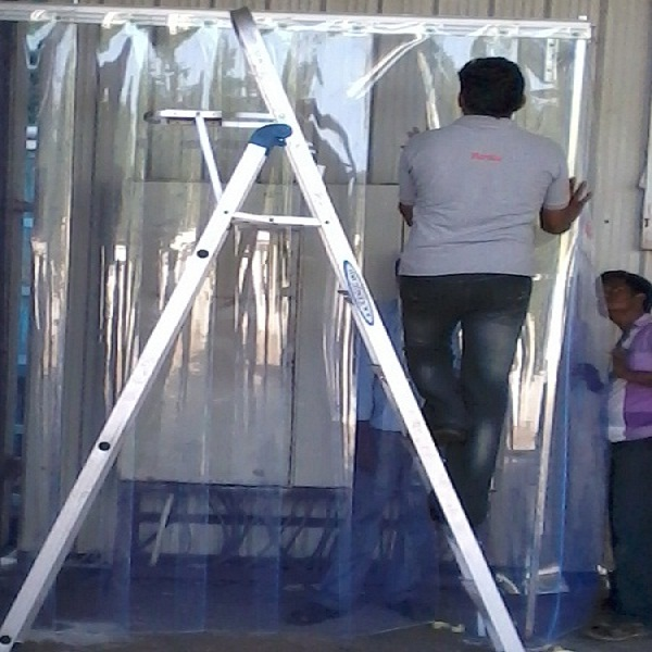 clear transparent pvc strip curtains in chennai