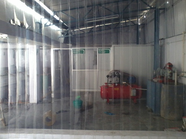 stock curtains wall curtain in we wide pvc strip stripcurtainwall plastic rolls installed