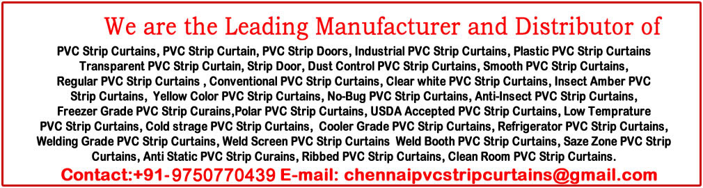 chennai pvc strips curtains